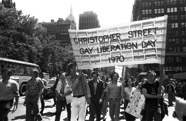 Christopher Street Liberation Day March 1970